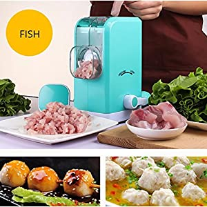 Hand Crank Meat Grinder Manual Mincer, Vegetable Grinder Mincer, Quickly and Effortlessly for Grinding Meat, Sausages, Vegetables, Onion, Pepper etc