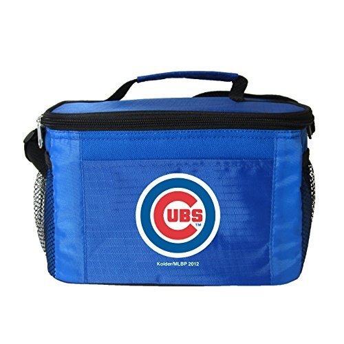 New MLB Baseball 2014 Team Color Logo 6 Pack Lunch Bag Cooler - Pick Team (Chicago Cubs)