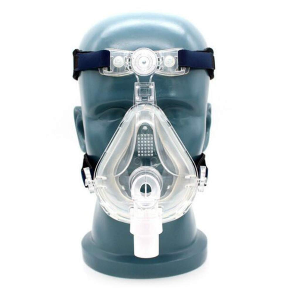 Universal Size Full Face Mask With Adjustable Headgear
