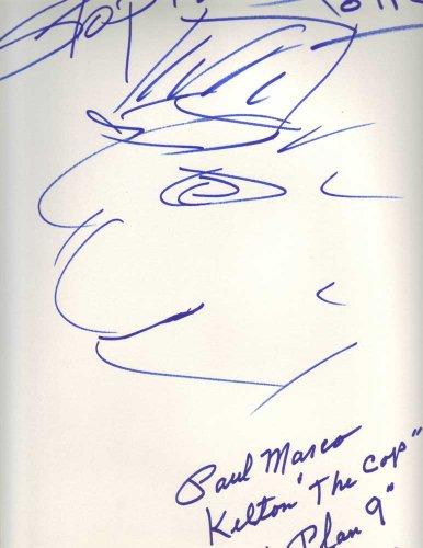 Paul Marco in-person Artwork