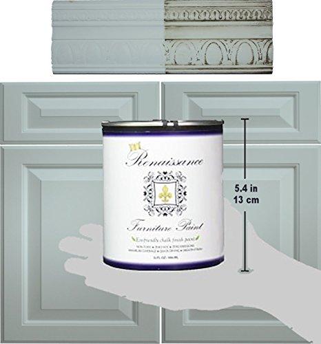 Retique It Chalk Furniture Paint by Renaissance DIY, 16 oz (Pint), 32 Tranquility