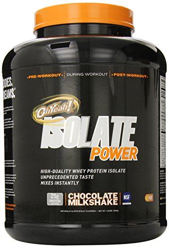 ISS Research OhYeah Isolate Power, Chocolate Milkshake, 4 Pound