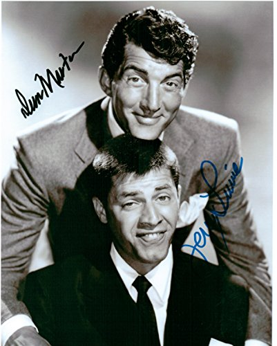 Dean Martin & Jerry Lewis 8 X 10 Photo Autograph on Glossy Photo Paper (Jerry Lewis Pictures compare prices)