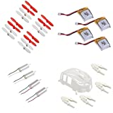 Estes Proto-X Hubsan Q4 Nano H111 Quadcopter Parts Combo Pack Batteries Propellers Motors Shell Canopy