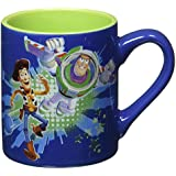"Disney Silver Buffalo TO7132 Disney Pixar Toy Story ""Buzz and Woody"" Ceramic Mug, 14 oz, Multicolor"