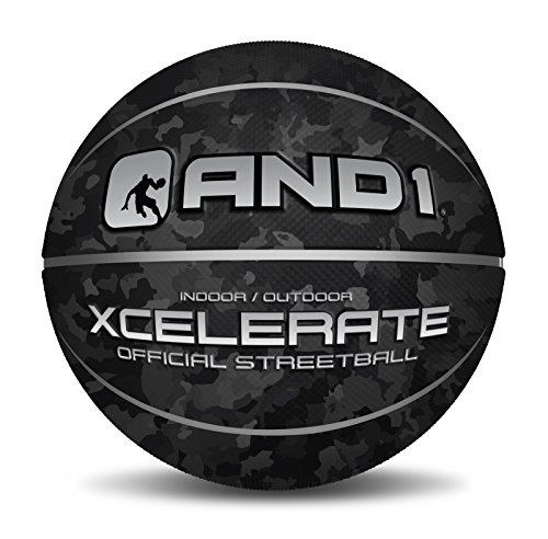0271c21239e8e AND1 | Xcelerate Rubber Street Ball 29.5 (Black Camo) (B01IIQO6YS ...