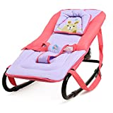 JXWANG Baby,Swing Chair - Bouncer,Rocker And 3 Angles Position Adjustment For Baby Adjust For Activity, Rest And Sleeping,Red