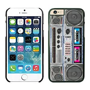 FAGUO Cheap No Minimum Boombox iPhone 6 Plus Case 5 Black