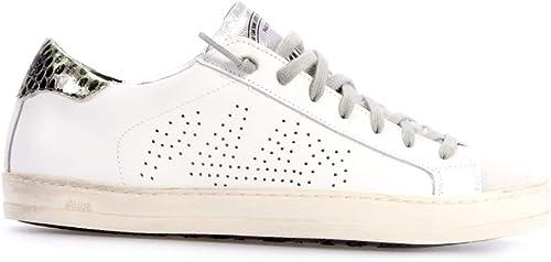 P448 Sneaker John White Schuhe Sneaker Damen White John 38