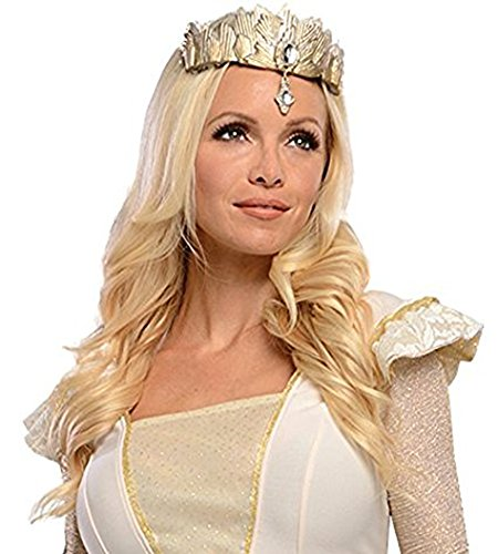[UHC Oz The Great & Powerful Glinda Blonde Wig Halloween Adult Costume Accessory] (Glinda Wig)