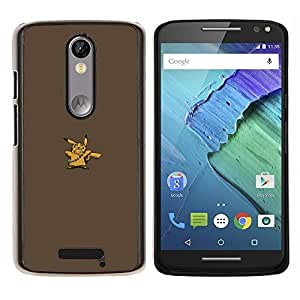 Stuss Case / Funda Carcasa protectora - Pikach Wookie - Motorola Moto X3 3rd Generation