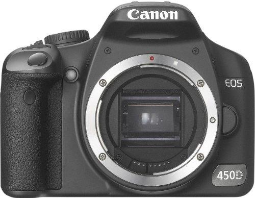 (Canon EOS 450D 450-D 450 D DSLR Camera (Body Without Lens))