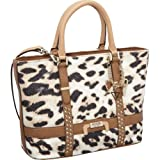 GUESS Caytie Small Carryall (Cognac), Bags Central