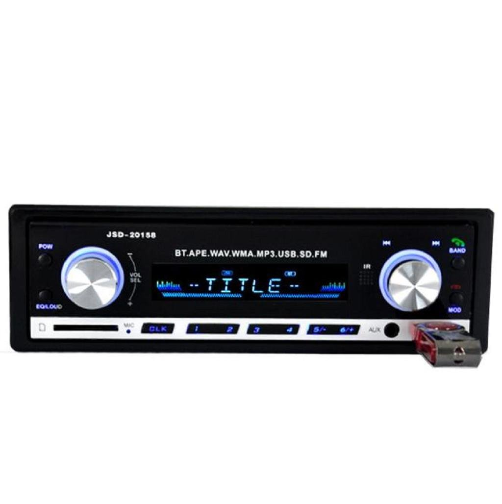 Sannysis - Auto Audio Bluetooth esté reo Unidad Jefe de SD USB MP3