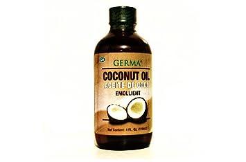 Germa Aceite Coconut Oil, 4 Ounce