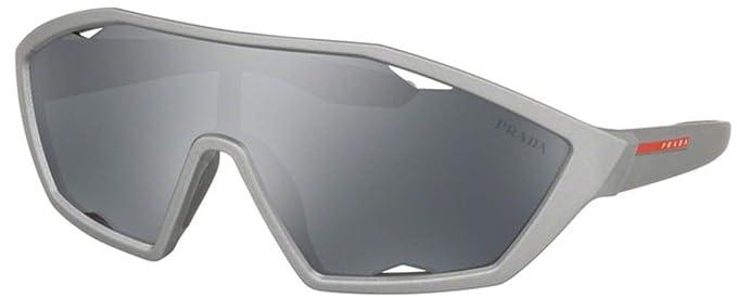 Amazon.com: Gafas de sol Prada Linea Rossa PS 16 US 4495L0 ...
