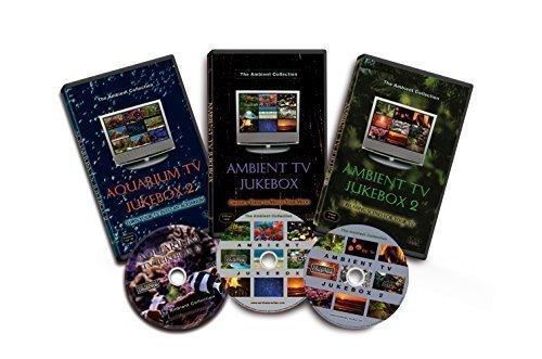 3 DVD Set - Ambiente TV Jukebox 1 & 2 und Aquarium TV Jukebox 2