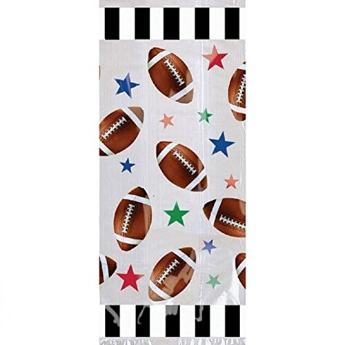 Football Party Goody Bags - Football Party Favors Bag - 20 Count - Football Loot Bags
