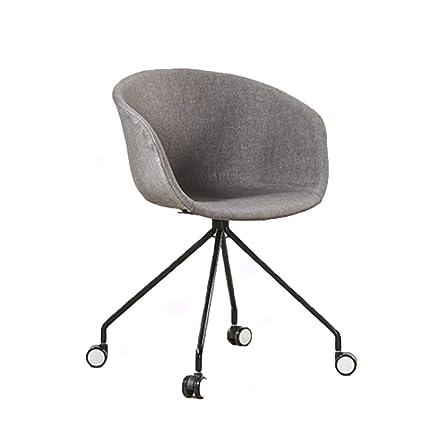 Superb Amazon Com Ye Zi Backrest Chair Home Simple Mobile Lounge Dailytribune Chair Design For Home Dailytribuneorg
