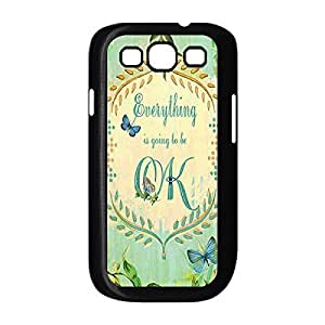 Designed Hard Case for Samsung Galaxy S3 I9300 Plastic Protective Case Cover with Bible Verse -Black20714