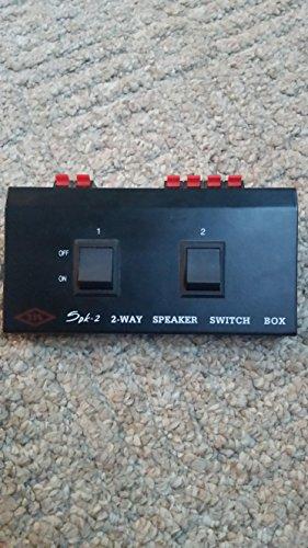 2 Pair Speaker Selector Switch Box (Speaker Switch Box)