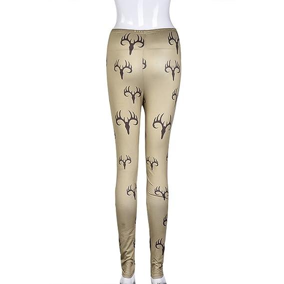 cinnamou Pantalones Mujer, Pantalon Deporte Costura De ...