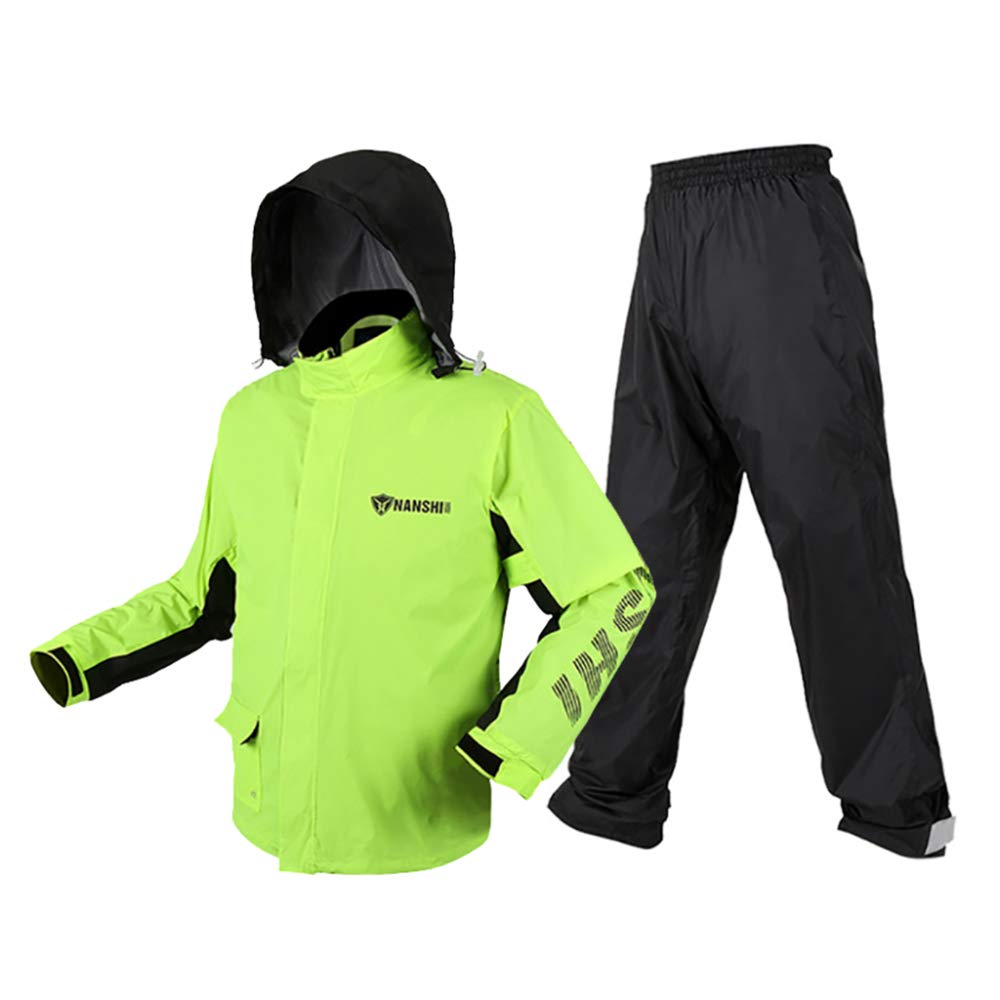 DYCLE Moto Costume Imperm/éable//Pantalon De Pluie 100/% Imperm/éable Et Coupe-Vent Adulte Veste//Pantalon Homme//Femme Sports De Plein Air Poncho