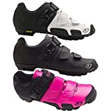 Giro GF23110 Womens Sica Vr70 Dirt Bike Shoes, Wht/Mat Blk – 37
