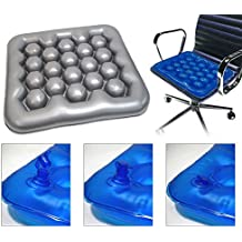 (Gray color) Air Water Cushion Inflatable Wheelchair Driver Car Cushion Preventing Bedsore Office Driver Seat Cushion
