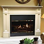 The Classique 50-Inch Fireplace Mantel from Pearl Mantels, Inc.