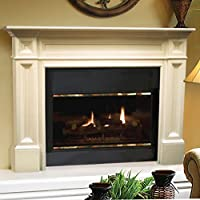 The Classique 50-Inch Fireplace Mantel