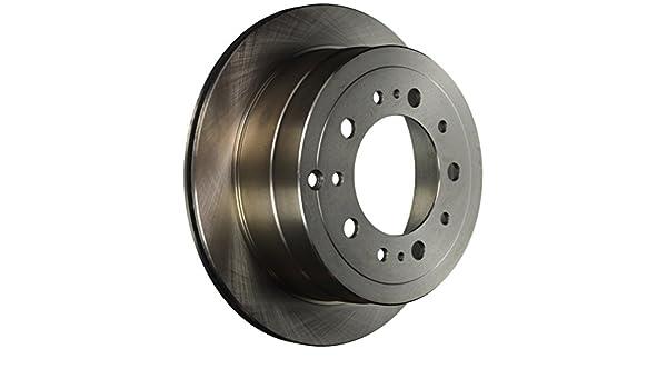 Disc Brake Rotor Rear Parts Master 126085