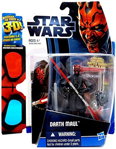Star Wars 2012 Discover the Force Exclusive Action Figure Darth Maul Hasbro 38596