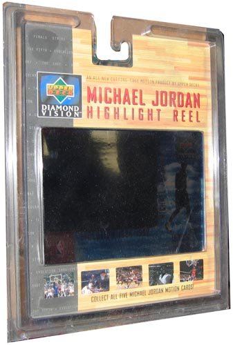 1997 Upper Deck NBA Basketball Michael Jordan Highlight Reel Motion Card -  o2