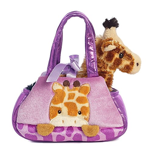 (Aurora World Fancy Pals Peek-A-Boo Giraffe Pet Carrier)