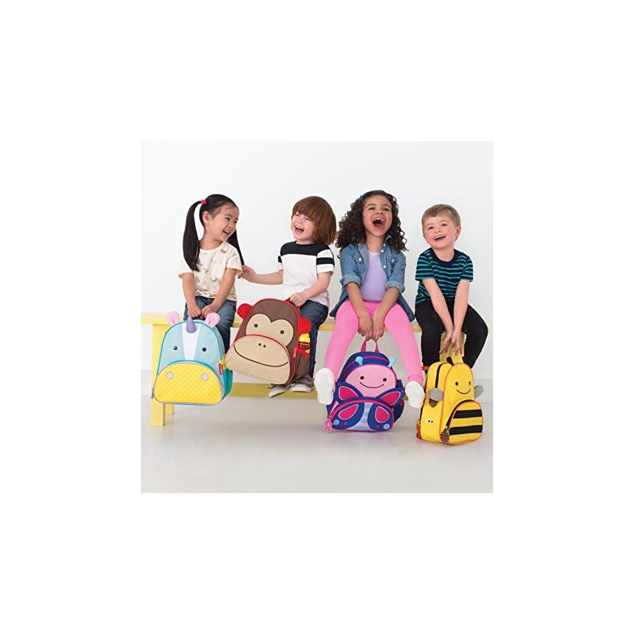 "Skip Hop Toddler Backpack, 12"" Unicorn School Bag, Multi"