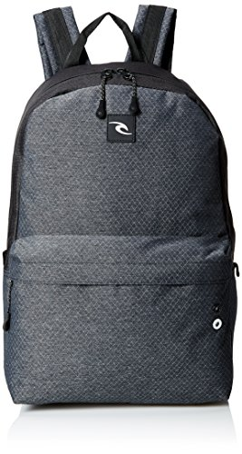 Rip Curl Men's Mood Ripstop HTR Backpack, Black
