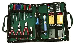 Caja de transporte y herramientas para el ordenador