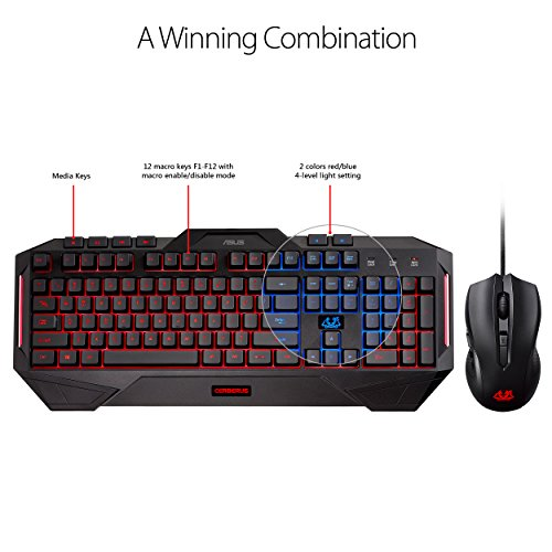 511I8iVp%2B5L - ASUS Cerberus Ambidextrous Wired 6-Button Optical Gaming Mouse