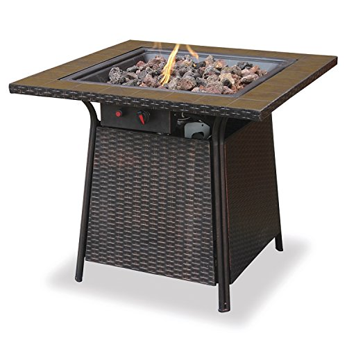 Lighting An Outdoor Fire Pit in US - 9