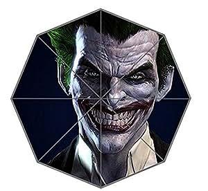 Hecho a mano de bienes Custom Batman Arkham Origins Joker Auto plegable lluvia Sol Paraguas
