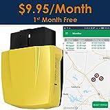 Spectrum Smart: 4G OBD II GPS Tracker Vehicles, Car Tracker Device, Driving Tracker Teens, Fleet Tracking Device, One Month Free Service