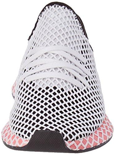 Adidas Deerupt Runner W Scarpe Da Ginnastica Donna Nero core Black core Black chalk Pink S18