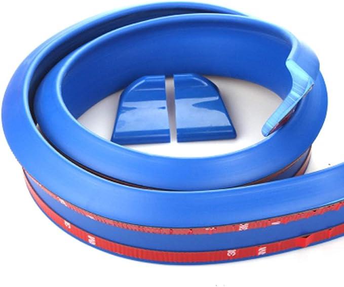 WOVELOT 3D Rear Roof Trunk Spoiler Wing Tail Lip 4.9Ft Universal Carbon Fiber Look Trim
