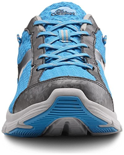 Dr. Comfort Meghan Women's Therapeutic Extra Depth Athletic Shoe: Blue 8 Wide (C-D) Lace by Dr. Comfort (Image #6)