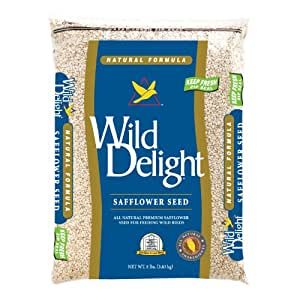 Safflower Seed 8 lbs + Freight
