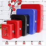 Safe Box Money Portable Lockable Security Cash Home Office House New Arrival Key Lock