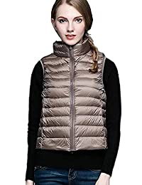 In-fashion style Womens Packable Lightweight Down Vest Outdoor Puffer Vest
