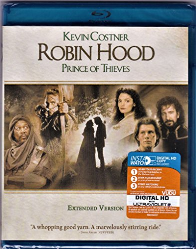Robin Hood: Prince of Thieves (Extended Version) [Blu-ray] by Warner Home Video (Robin Hood Prince Of Thieves Blu Ray)