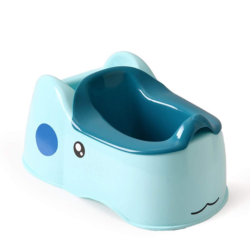 QBYLYF Sitz Bath Kit 2-in-1 Travel Potty Child Wash Ass Baby Wash Fart PP Bath Supplies Children Toilet (Color : Blue) by QBYLYF
